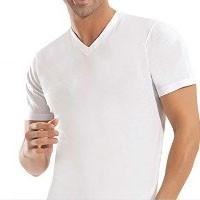 Daha Fazla V Yaka T-Shirt