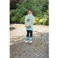 Kız Çocuk Sweatshirt Tayt Tozluk Takım Anıl 6310