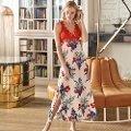 Anıl Kadın Karışık Çok Renkli Elbise Gecelik 5492