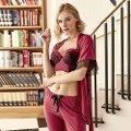 Anıl Sabahlık Büstiyer ve Pijama Takım 4757