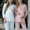 Artış 1137 interlok Lohusa Pijama Takımı