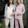 Artış 1145 Lohusa Pijama Takımı
