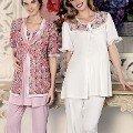 Artış 3 Lü Lohusa Pijama Takımı 1069