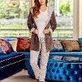 Bayan 3 lü Pijama Takım Dowry 15-105