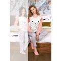 Bayan Pijama Takımı 2 Li Süprem Yeni İnci BPJ1162