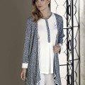 Bayan Pijama Takımı 3 Lü Triko Interlok Artış 2313