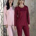 Bayan Pijama Takımı İnterlok Artış 2204