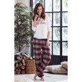 Bayan Pijama Takımı Penye Mood 8230