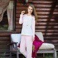 Bayan Sweatshirt Pijama Takım Anıl 9470