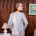 Bayan T-Shirt Pijama Takım Anıl 9479