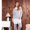 Bayan Tunik Pijama Takım Anıl 9486