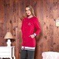 Bayan Tunik Pijama Takım Anıl 9488