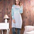 Bayan Tunik Pijama Takım Anıl 9489