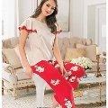 Bayan Uzun Alt Pijama NBB 66258