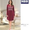 Bayan Uzun Kol Gecelik NBB 66223