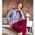 Bayan Uzunkol Pijama Takım Anıl 9468