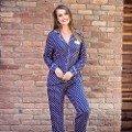 Bayan Uzunkol Pijama Takım Anıl 9475