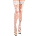 La Blinque Beyaz Aksesuarlı Gelin Jartiyer Çorabı 953