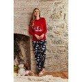 Büyük Beden Pijama Takımı Bayan Pierre Cardin PC7211