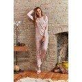 Büyük Beden Pijama Takımı Bayan Pierre Cardin PC7242