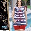 Büyük Beden Şortlu Takım Lady 379