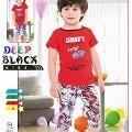 Deep Black 451 Erkek Çocuk Kapri Takım