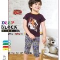 Deep Black 455 Kapri Pijama Takım Erkek Çocuk