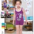 Deep Black 459 Askılı Şortlu Kız Çocuk Pijama Takımı