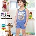 Deep Black 461 Şortlu Erkek Çocuk Pijama Takımı