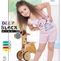 Deep Black 462 Askılı Şortlu Kız Çocuk Pijama Takımı