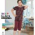 Deep Black 470 Erkek Çocuk Kapri Takım