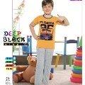 Deep Black 474 Erkek Çocuk Pijama Takım