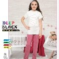 Deep Black 477 Kız Çocuk Pijama Takımı