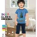 Deep Black 488 Erkek Çocuk Kapri Takım