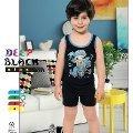 Deep Black 500 Erkek Çocuk Şortlu Pijama Takımı