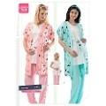Erdem 8458 Bayan Pijama Modal Süprem Lohusa