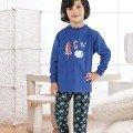 Erkek Çocuk Pijama Takım Hmd 5240