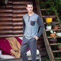 Erkek Uzunkol Pijama Takım Anıl 4046