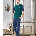 Erkek V Yaka T-Shirt-Uzun Alt Pijama NBB 7895
