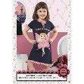 Hmd Kız Çocuk Kelebek Baskılı Kapri Takım 5096