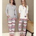 Kalp Pijama Takım Fantasy F5067