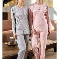 Kelebekli Uzun Kol Pijama Bone Club 4525