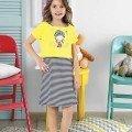 Kız Çocuk Elbise HMD 6057