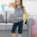 Kız Çocuk Kapri Takım HMD 6051