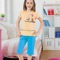 Kız Çocuk Kapri Takım HMD 6059