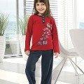 Kız Çocuk Pijama Takım Hmd 5121