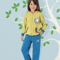 Kız Çocuk Pijama Takım Hmd 5246