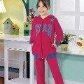 Kız Çocuk Pijama Takım Hmd 5249