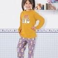 Kız Çocuk Pijama Takım Hmd 5265