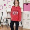 Kız Çocuk Pijama Takım Hmd 6028